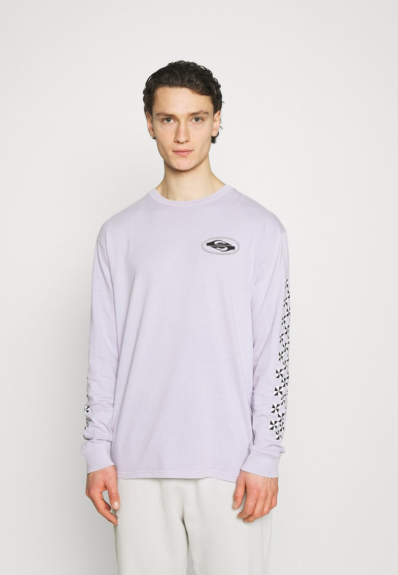 Quiksilver - CHECK OUT - Longsleeve - pastel lilac