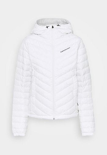 FROST HOOD JACKET - Down jacket - offwhite