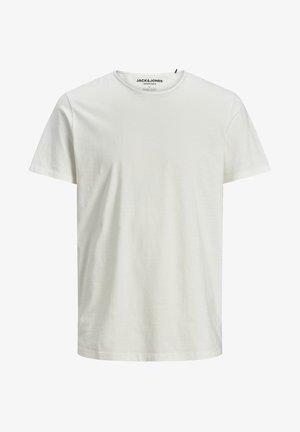 JJEBASHER TEE  - Basic T-shirt - cloud dancer