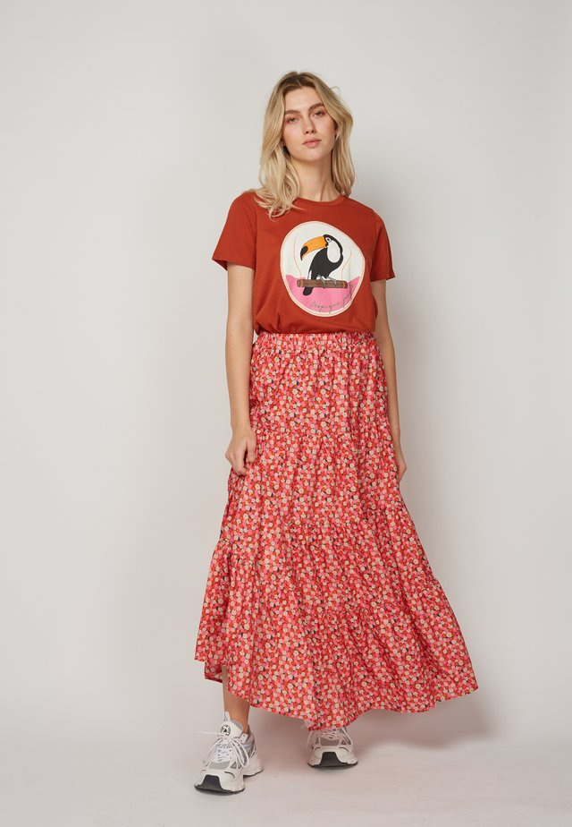 TROPIQUE JUNGLE - T-shirt print - brown