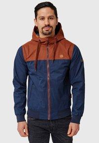 INDICODE JEANS - FLEMMING - Light jacket - rootbeer - 0