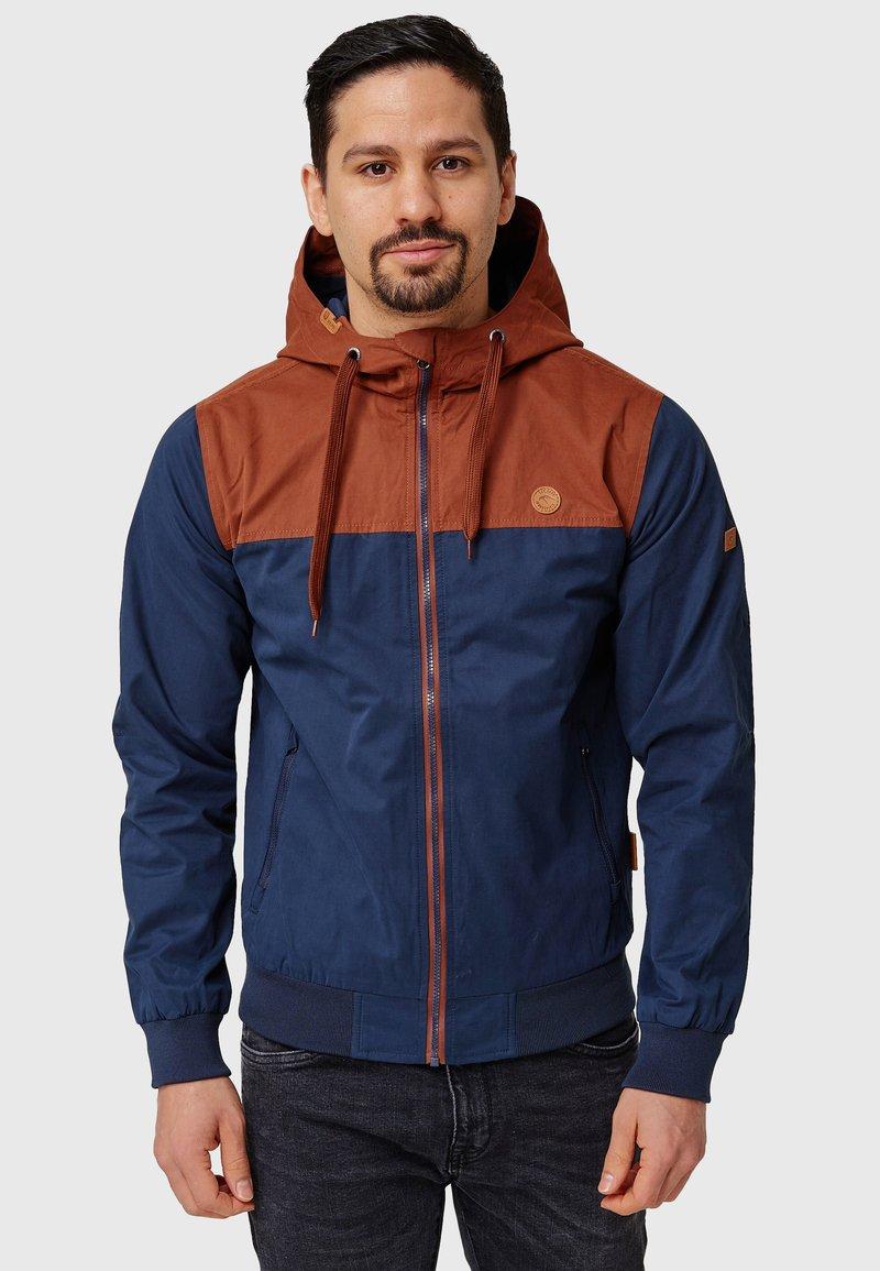 INDICODE JEANS - FLEMMING - Light jacket - rootbeer
