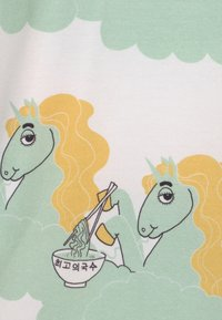 Mini Rodini - UNICORN NOODLES UNISEX - Print T-shirt - green - 2