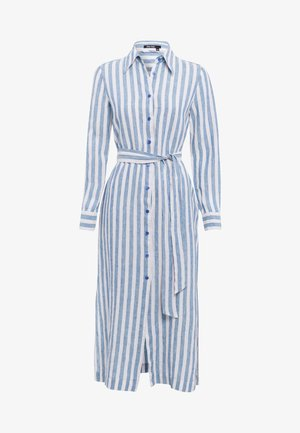 Shirt dress - blue varied
