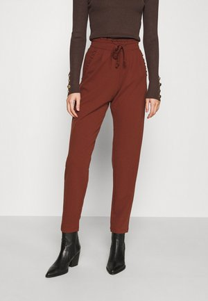 JDYCATIA NEW PANT - Tracksuit bottoms - cherry mahogany