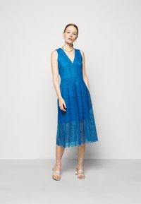 MICHAEL Michael Kors - MIDI DRESS - Cocktail dress / Party dress - bright cyan blue - 1