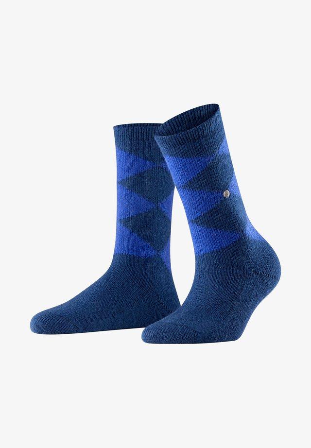 COSY ARGYLE - Socks - marine