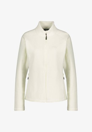BREVIK BASIC - Fleece jacket - wollweiss (101)