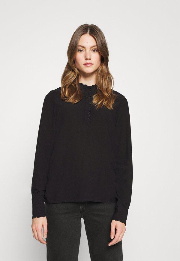 Vero Moda VMALINA - Bluzka - black/czarny EOTS
