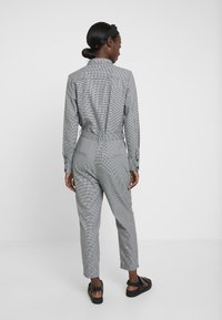 TOM TAILOR - OVERALL CASUAL CHECK - Overal - grey - 2