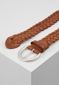 TOM TAILOR - Braided belt - cognac - 2