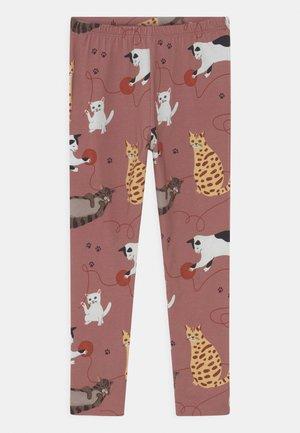 PLAYFUL CATS - Leggings - pink