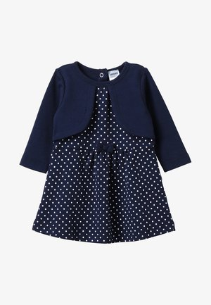LANGARM CLASSIC - Robe en jersey - dunkelblau