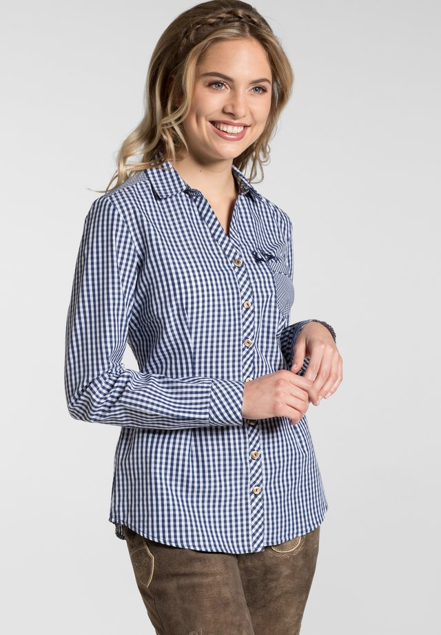 MALLORCA - Button-down blouse - blue