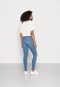 Gina Tricot - HIGHWAIST - Jeans Skinny Fit - midblue - 2