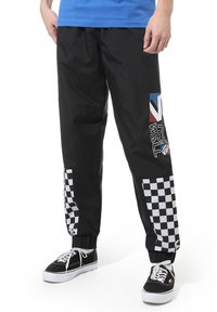 Vans - MN DIMENSION TRACK PANT - Tracksuit bottoms - black - 0