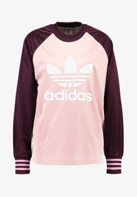 adidas Originals - LONGSLEEVE - Top sdlouhým rukávem - pink spirit/maroon - 3