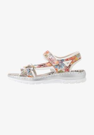Sandals - ginger/multicolor/reinweiß