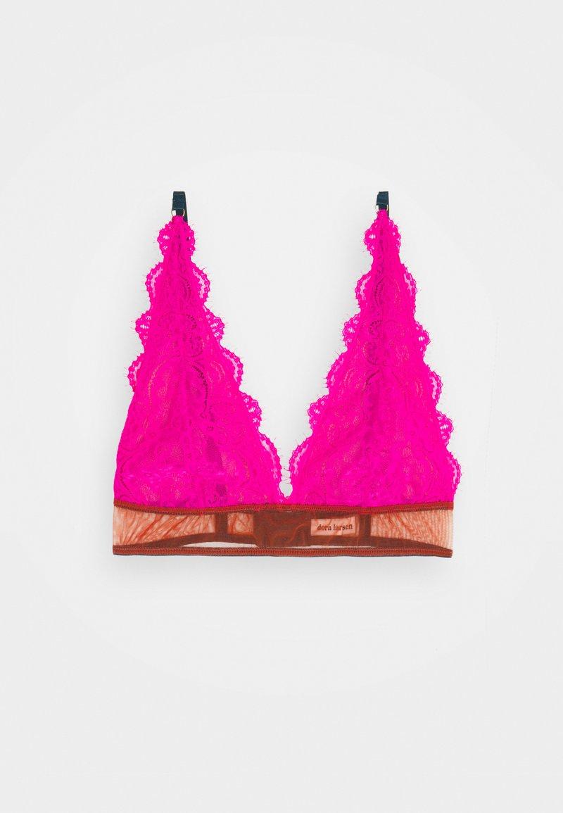 Dora Larsen - NATALIE HIGH APEX - Triangle bra - bright pink
