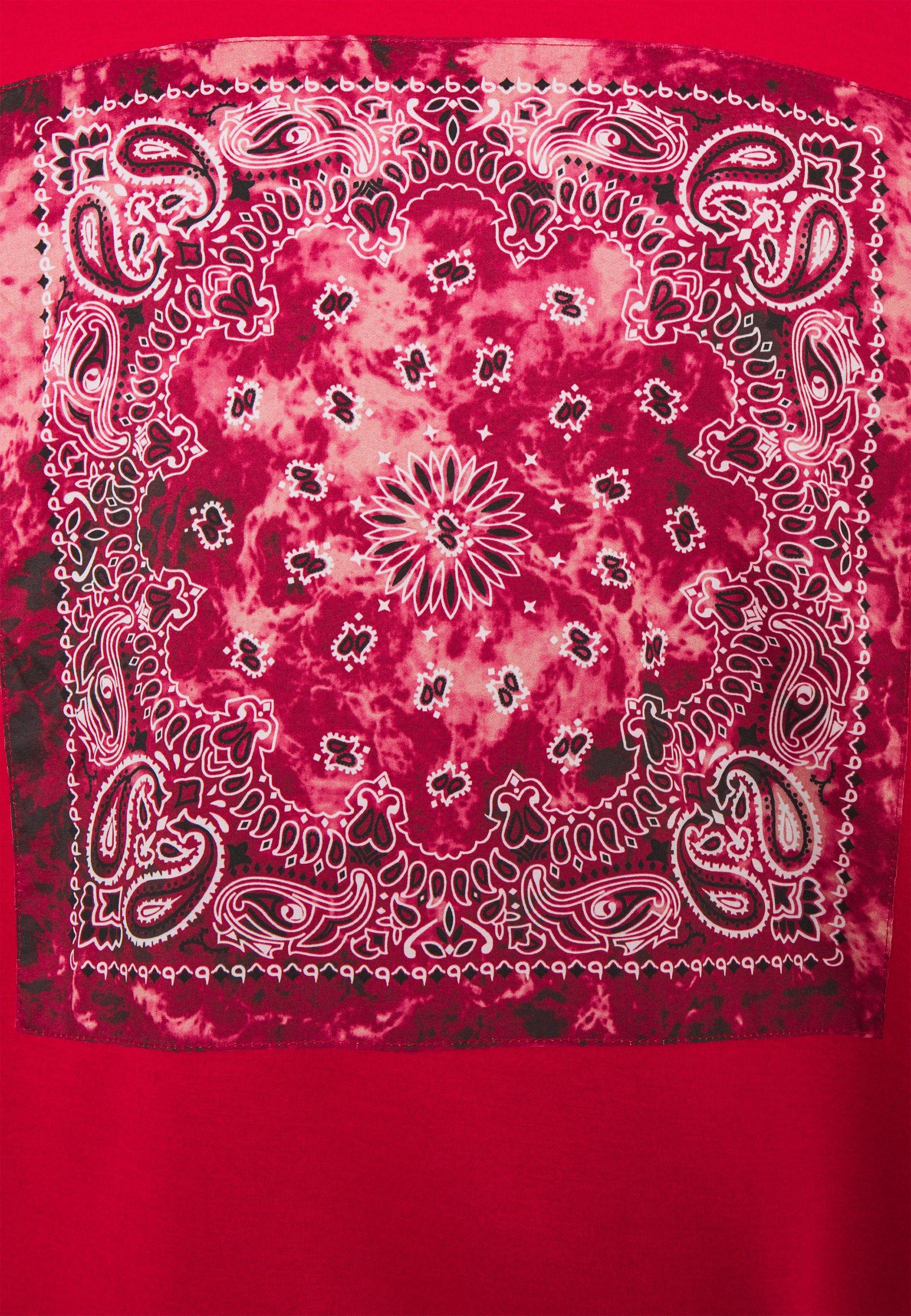 Sixth June Bandana Hoodie - Red/rød