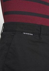 TOM TAILOR DENIM - Shorts - black - 3