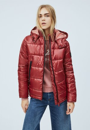 CLARA - Winter jacket - tibetan red