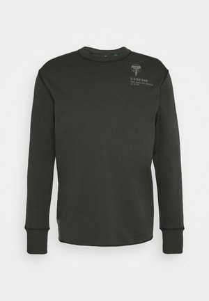 BACK GRAPHIC TWEETER  - Long sleeved top - anthracite
