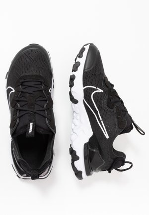 REACT VISION - Trainers - black/white