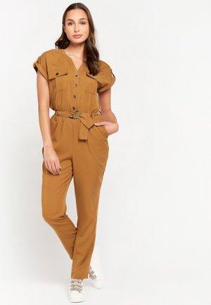 Jumpsuit - brown
