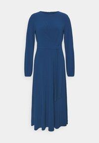 Lauren Ralph Lauren - MID WEIGHT DRESS - Jersey dress - dark cerulean - 0