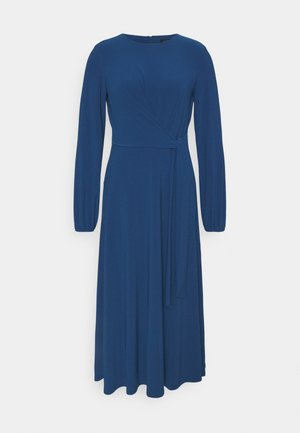 MID WEIGHT DRESS - Jersey dress - dark cerulean