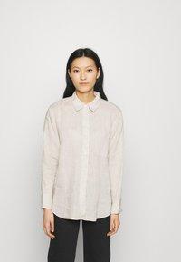 ARKET - Button-down blouse - nature - 0