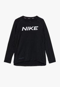 Nike Performance - B NP LS FTTD TOP - Funktionsshirt - black - 0