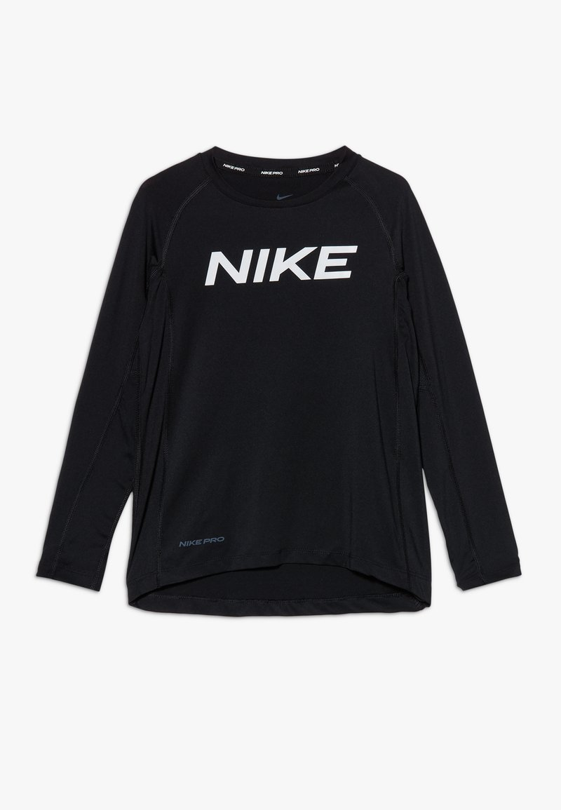 Nike Performance - B NP LS FTTD TOP - Funktionsshirt - black