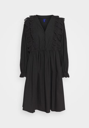 CAMERON DRESS - Košilové šaty - black