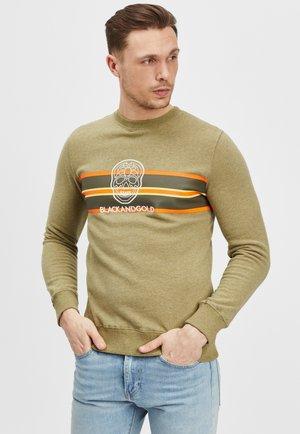 SEVENTOS - Sweater - khaki