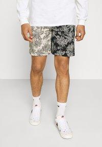Sixth June - TROPICAL - Shorts - black/white - 0