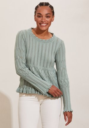 PRETTY ON THE LOOSE - Jumper - washed cargo