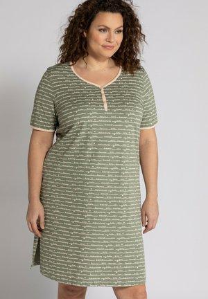 2 PACK - Pyjama top - mattes oliv