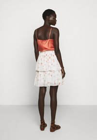 Bruuns Bazaar - ESMINA SKIRT - A-line skirt - brush artwork - 2