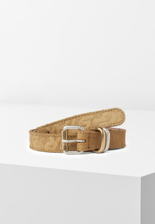 SUEDE - Riem - army green
