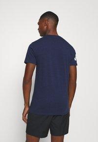 Superdry - TEE - Print T-shirt - midnight blue grit - 2
