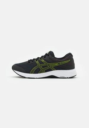 GEL CONTEND 6 - Neutrální běžecké boty - graphite grey/lime zest