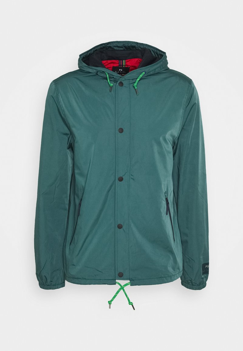 PS Paul Smith - MENS HOODED JACKET - Lehká bunda - petrol