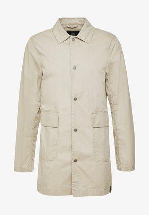 COAT - Classic coat - sand