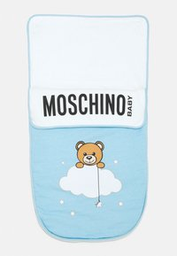 MOSCHINO - BABY NEST UNISEX - Footmuff - baby sky blue melange - 0