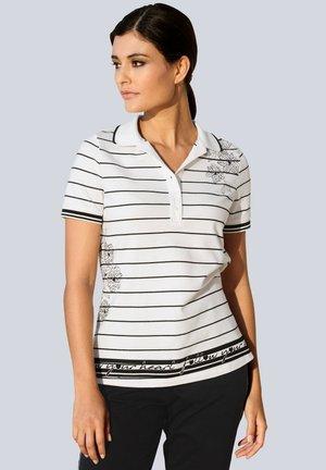 Polo shirt - weiß,schwarz
