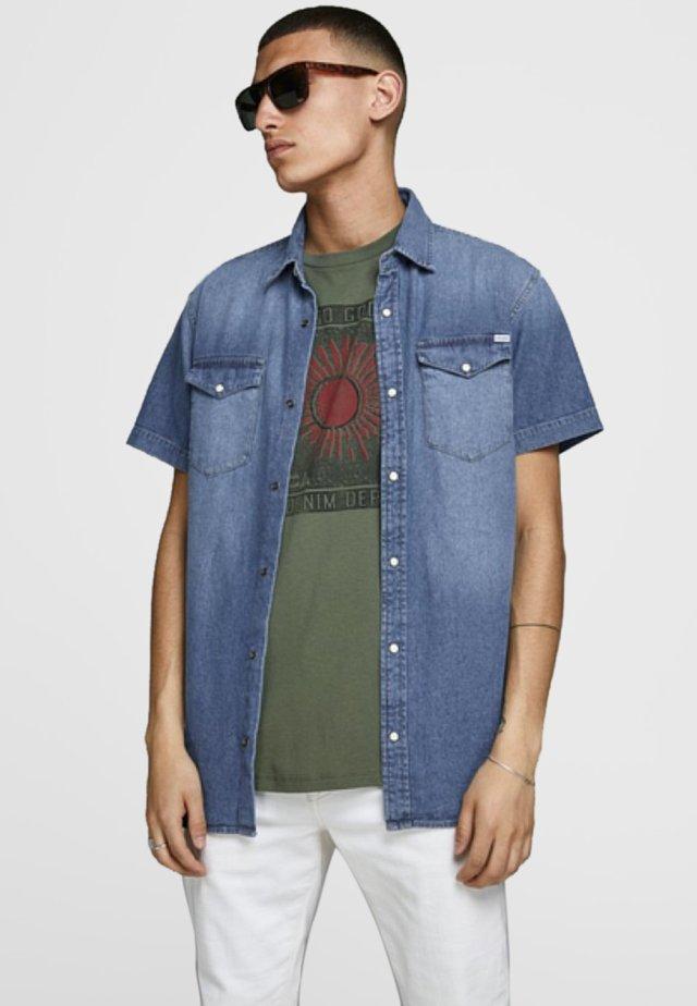 Skjorter - medium blue denim
