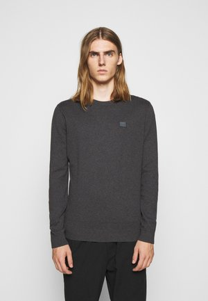 ETIENNE CASHTON - Stickad tröja - charcoal/blue fog