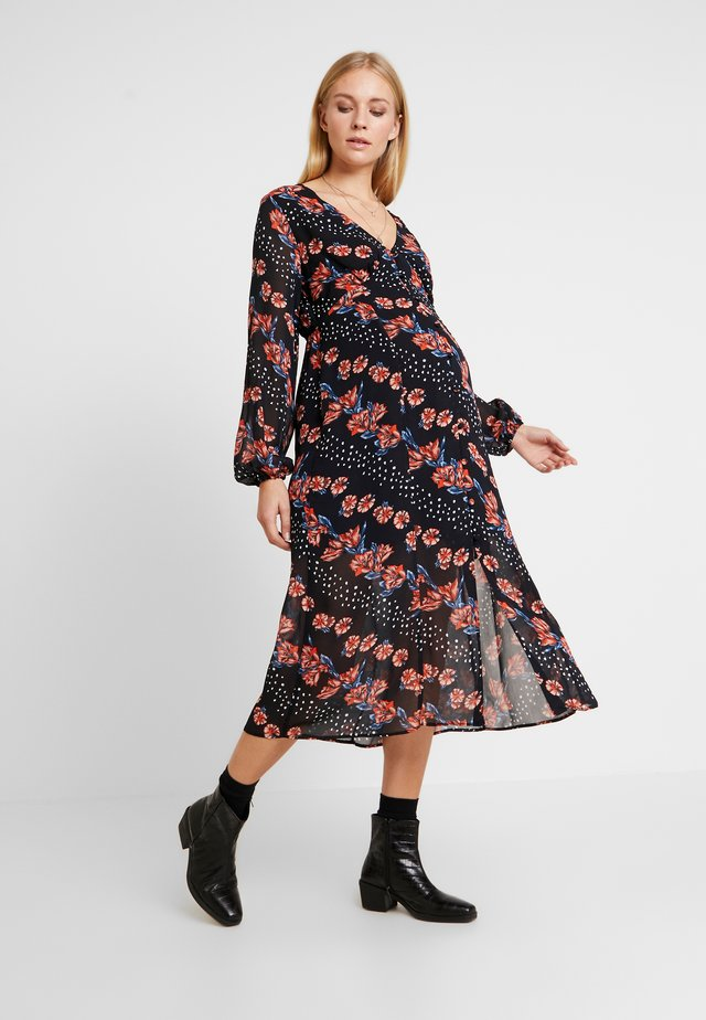 GLITCH FLORAL - Day dress - multi-coloured